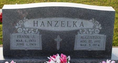 HANZELKA, FRANK J. - Fayette County, Texas | FRANK J. HANZELKA - Texas Gravestone Photos