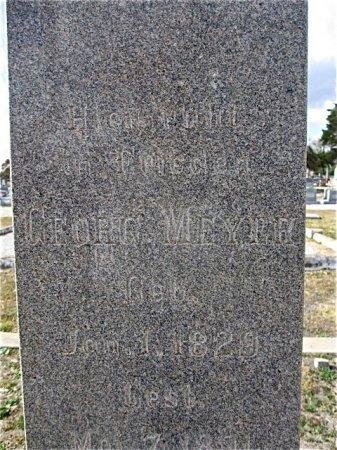 MEYER, GEORGE - Fayette County, Texas   GEORGE MEYER - Texas Gravestone Photos