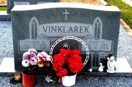 VINKLAREK, CHARLES FRED - Fayette County, Texas | CHARLES FRED VINKLAREK - Texas Gravestone Photos