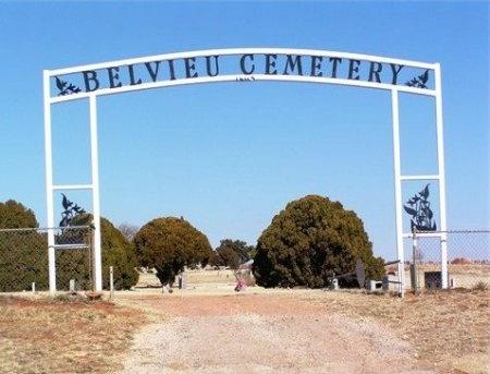*BELVIEU ENTRANCE,  - Fisher County, Texas |  *BELVIEU ENTRANCE - Texas Gravestone Photos