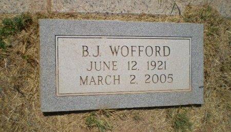 WOFFORD, B. J. - Floyd County, Texas | B. J. WOFFORD - Texas Gravestone Photos