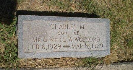 WOFFORD, CHARLES M. - Floyd County, Texas | CHARLES M. WOFFORD - Texas Gravestone Photos