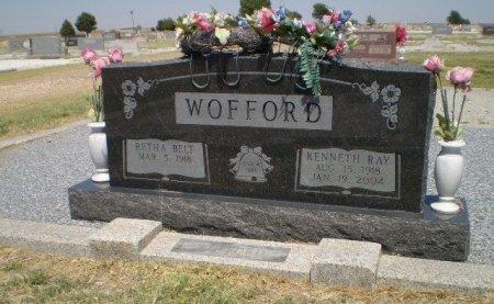 WOFFORD, KENNETH R. - Floyd County, Texas | KENNETH R. WOFFORD - Texas Gravestone Photos