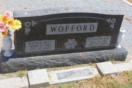 WOFFORD, RETHA - Floyd County, Texas   RETHA WOFFORD - Texas Gravestone Photos