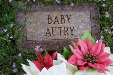AUTRY, BABY - Foard County, Texas   BABY AUTRY - Texas Gravestone Photos