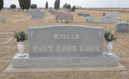 AUTRY, JR., JESS C. - Foard County, Texas | JESS C. AUTRY, JR. - Texas Gravestone Photos