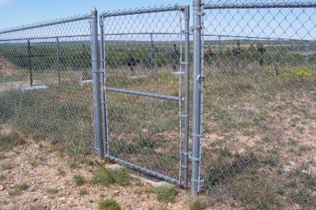 *CEMETERY GATE,  - Foard County, Texas |  *CEMETERY GATE - Texas Gravestone Photos