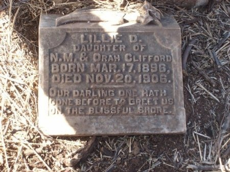 CLIFFORD, LILLIE D. - Foard County, Texas | LILLIE D. CLIFFORD - Texas Gravestone Photos
