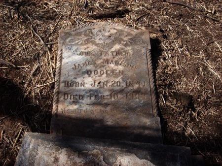 DOOLEN, JAMES MADISON - Foard County, Texas | JAMES MADISON DOOLEN - Texas Gravestone Photos