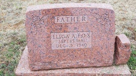 FOX, ELIGA A. - Foard County, Texas | ELIGA A. FOX - Texas Gravestone Photos