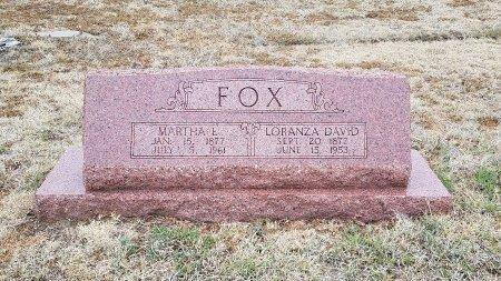FOX, MARTHA ELIZABETH - Foard County, Texas | MARTHA ELIZABETH FOX - Texas Gravestone Photos