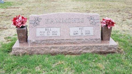 HAMMONDS, BILL - Foard County, Texas   BILL HAMMONDS - Texas Gravestone Photos