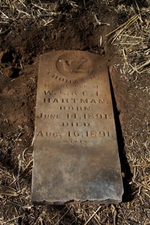 HARTMAN, THOMAS M. - Foard County, Texas | THOMAS M. HARTMAN - Texas Gravestone Photos
