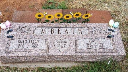 MCBEATH, HOMER LINDEL - Foard County, Texas | HOMER LINDEL MCBEATH - Texas Gravestone Photos