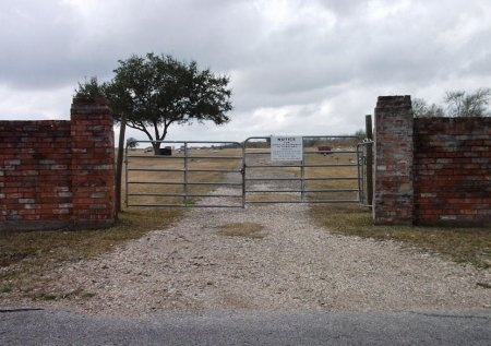 *CEMETERY GATE,  - Fort Bend County, Texas |  *CEMETERY GATE - Texas Gravestone Photos