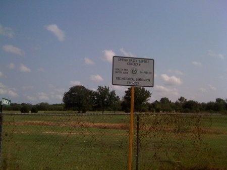 *CEMETERY SIGN,  - Fort Bend County, Texas |  *CEMETERY SIGN - Texas Gravestone Photos