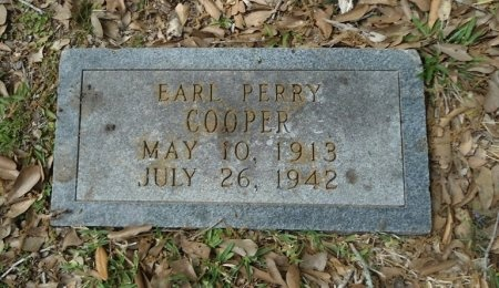 COOPER, EARL PERRY - Fort Bend County, Texas | EARL PERRY COOPER - Texas Gravestone Photos