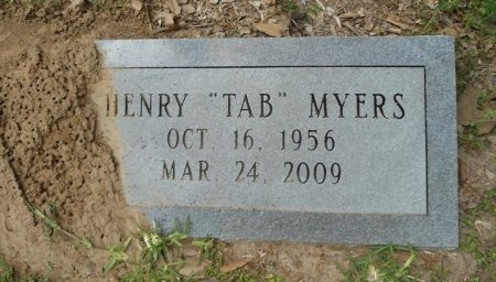 """MYERS, HENRY TRAVIS """"TAB"""" - Fort Bend County, Texas 