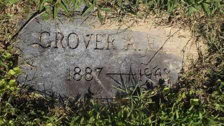 EZELL, GROVER A - Franklin County, Texas | GROVER A EZELL - Texas Gravestone Photos