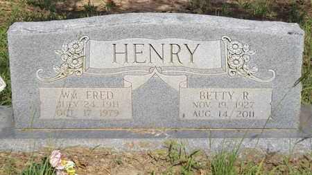 HENRY, WM FRED - Franklin County, Texas | WM FRED HENRY - Texas Gravestone Photos