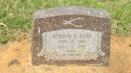 HUNT, HERMAN FREDERICK - Franklin County, Texas | HERMAN FREDERICK HUNT - Texas Gravestone Photos