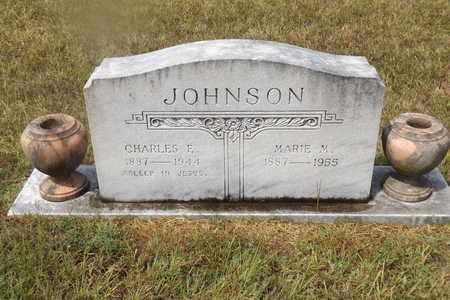 JOHNSON, CHARLES E - Franklin County, Texas | CHARLES E JOHNSON - Texas Gravestone Photos