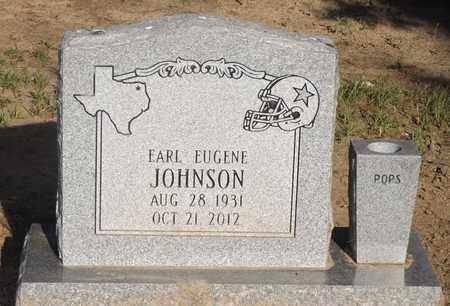 JOHNSON, EARL EUGENE - Franklin County, Texas | EARL EUGENE JOHNSON - Texas Gravestone Photos