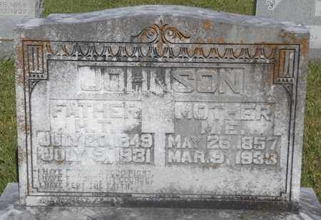 JOHNSON, H.T - Franklin County, Texas | H.T JOHNSON - Texas Gravestone Photos