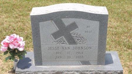 JOHNSON, JESSE VAN - Franklin County, Texas | JESSE VAN JOHNSON - Texas Gravestone Photos