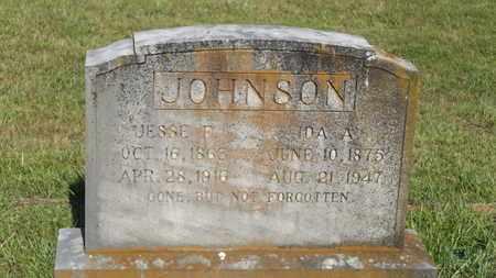 JOHNSON, JESSE F - Franklin County, Texas | JESSE F JOHNSON - Texas Gravestone Photos