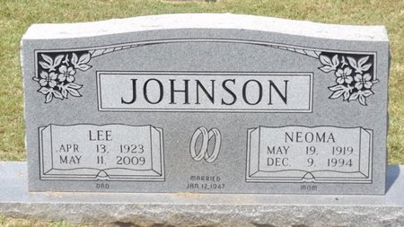 JOHNSON, LEE - Franklin County, Texas   LEE JOHNSON - Texas Gravestone Photos