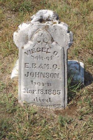 JOHNSON, VIRGIL G - Franklin County, Texas | VIRGIL G JOHNSON - Texas Gravestone Photos