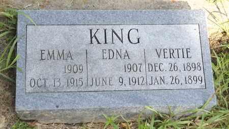 KING, EMMA - Franklin County, Texas   EMMA KING - Texas Gravestone Photos