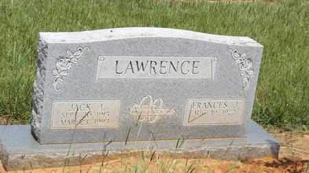 LAWRENCE, JACK L - Franklin County, Texas   JACK L LAWRENCE - Texas Gravestone Photos