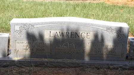 PETITT LAWRENCE, MARGARET F - Franklin County, Texas   MARGARET F PETITT LAWRENCE - Texas Gravestone Photos