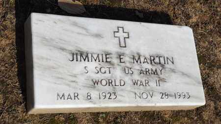 MARTIN (VETERAN WWII), JIMMIE E - Franklin County, Texas | JIMMIE E MARTIN (VETERAN WWII) - Texas Gravestone Photos