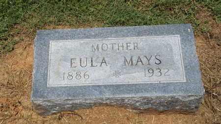 KENNEDY MAYS, EULA - Franklin County, Texas   EULA KENNEDY MAYS - Texas Gravestone Photos