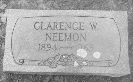 NEEMON, CLARENCE W - Franklin County, Texas | CLARENCE W NEEMON - Texas Gravestone Photos