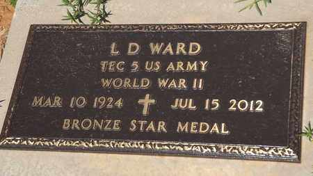 WARD (VETERAN WWII), L D - Franklin County, Texas | L D WARD (VETERAN WWII) - Texas Gravestone Photos