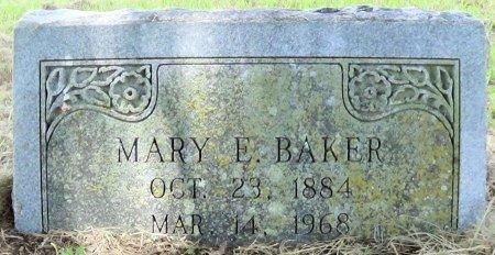 CRISP BAKER, MARY E - Freestone County, Texas   MARY E CRISP BAKER - Texas Gravestone Photos