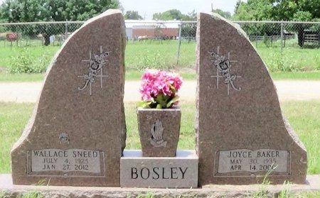 BAKER BOSLEY, JOYCE - Freestone County, Texas | JOYCE BAKER BOSLEY - Texas Gravestone Photos