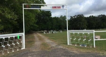 *CEMETERY ENTRANCE,  - Freestone County, Texas |  *CEMETERY ENTRANCE - Texas Gravestone Photos
