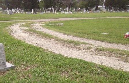 *CEMETERY VIEW,  - Freestone County, Texas |  *CEMETERY VIEW - Texas Gravestone Photos