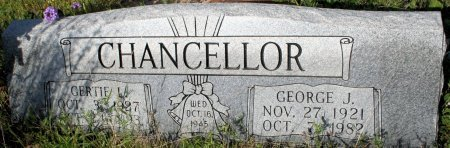 CHANCELLOR, GEORGE JACKSON - Freestone County, Texas   GEORGE JACKSON CHANCELLOR - Texas Gravestone Photos