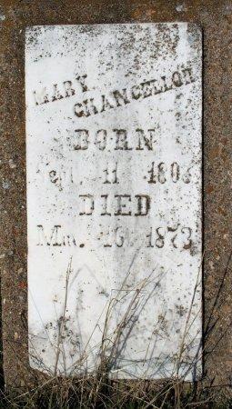 DICKSON CHANCELLOR, MARY 1808 - Freestone County, Texas | MARY 1808 DICKSON CHANCELLOR - Texas Gravestone Photos