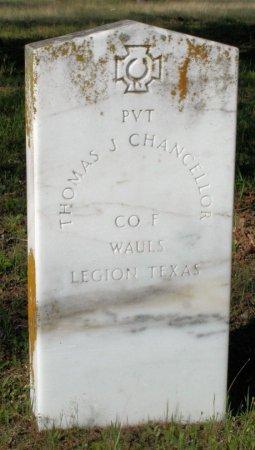 CHANCELLOR (VETERAN CSA), THOMAS J - Freestone County, Texas   THOMAS J CHANCELLOR (VETERAN CSA) - Texas Gravestone Photos