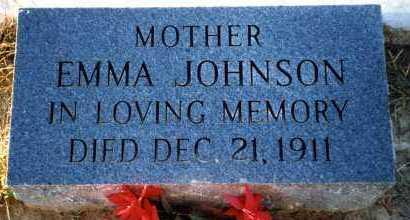 JOHNSON, EMMA - Freestone County, Texas | EMMA JOHNSON - Texas Gravestone Photos