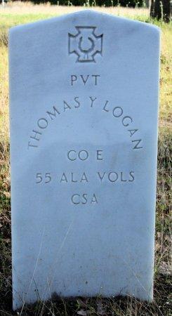 LOGAN (VETERAN CSA), THOMAS Y - Freestone County, Texas | THOMAS Y LOGAN (VETERAN CSA) - Texas Gravestone Photos
