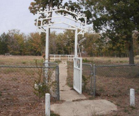 *SECONDARY ENTRANCE,  - Freestone County, Texas |  *SECONDARY ENTRANCE - Texas Gravestone Photos