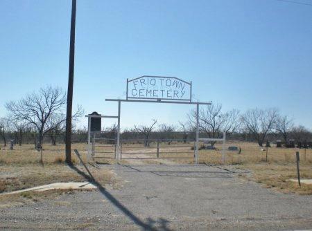 *CEMETERY ENTRANCE,  - Frio County, Texas |  *CEMETERY ENTRANCE - Texas Gravestone Photos